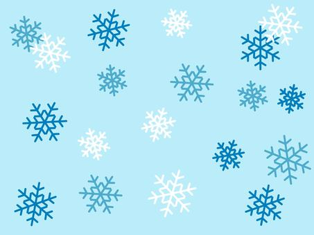 Snowflake background material 02