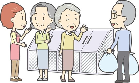 高齢者の生活-004-セット
