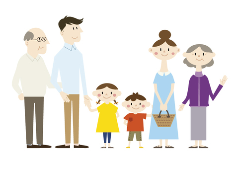 Family 3 generations