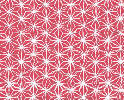 Hemp leaf pattern _ Chaku-nya
