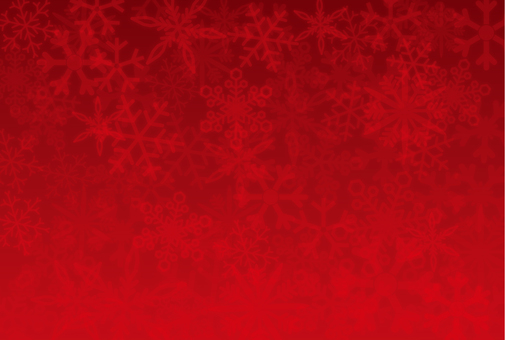 Snow background _ red