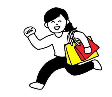 女性購物(簡單)