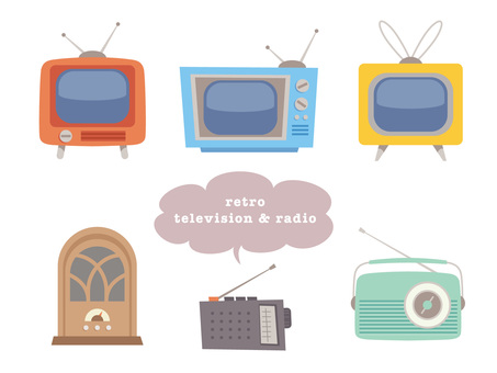 Variety of retro TV and radio