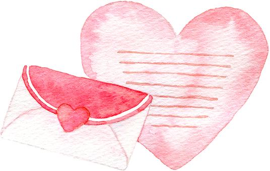 Heart's letter