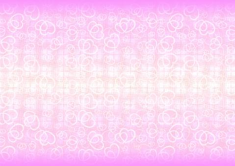 Fashionable Heart Background