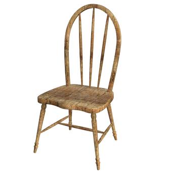 오래된 의자