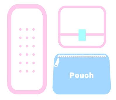 Sanitary napkin pink