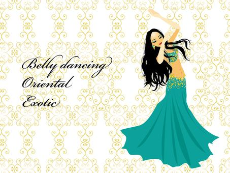 Belly dance women
