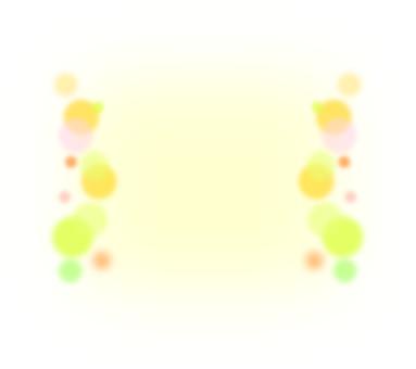 Yellow polka dot frame