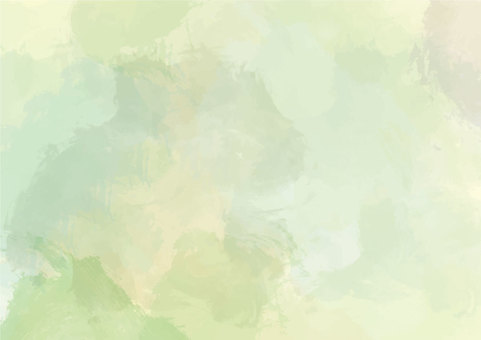 Water color background green