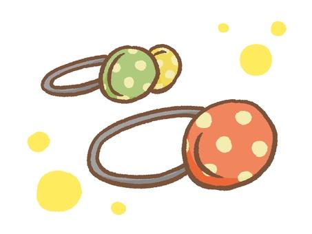 Walnut button