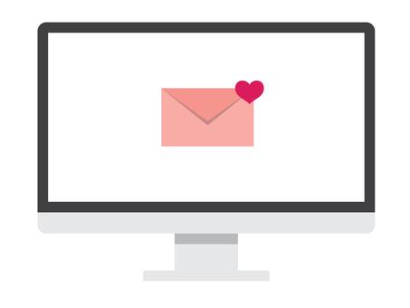 Internet love on PC