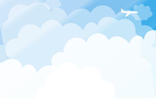 Blue sky frame