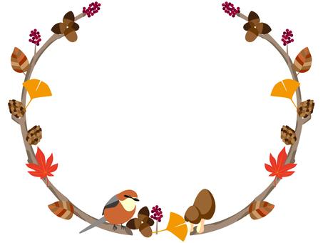 Autumn Frame / Bird
