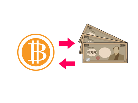 Exchange of bit coin and Japanese yen 2