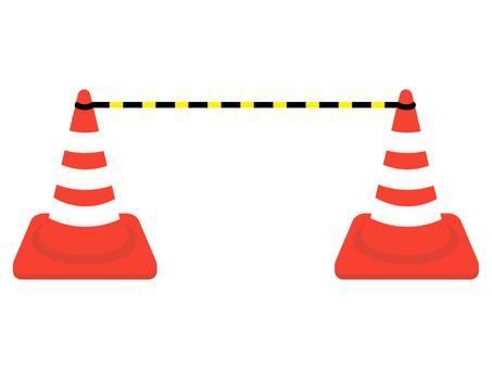 Cone entry prohibition