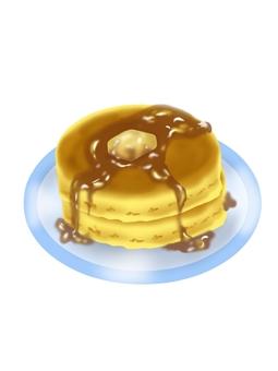 Hot cake (butter)