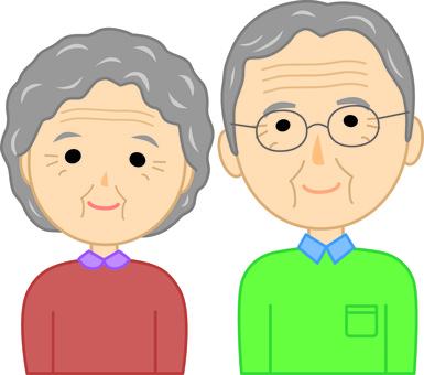 老年夫婦1
