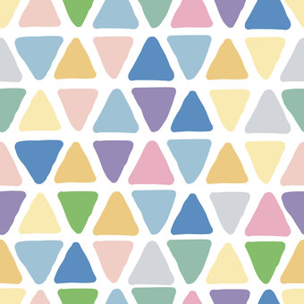 Hand-painted triangle background material (pink)
