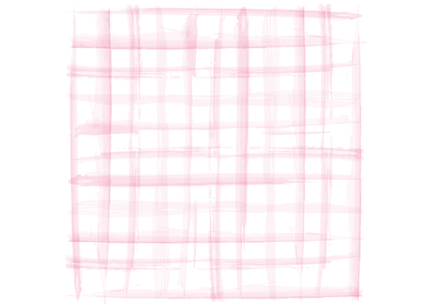 Watercolor check pattern pink