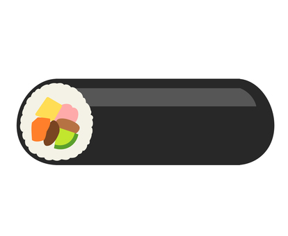Thick roll sushi 01