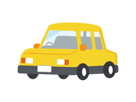 Car Vehicle Passenger Car Yellow