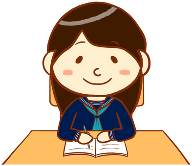 "Sailor uniform (studying) ""Blue"""