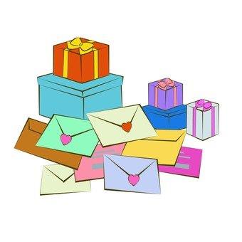 粉絲的郵件和禮物