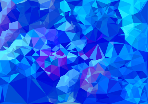 青紫色のデジタルポリゴンベクター背景素材