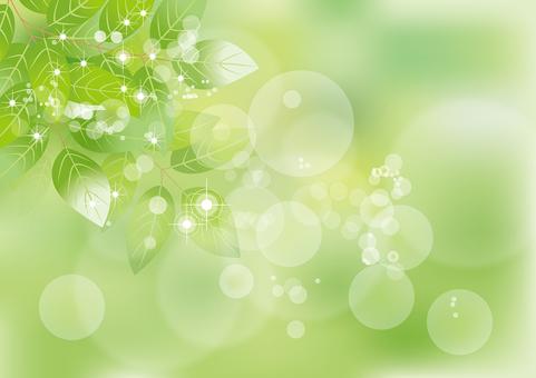 Glittering leaf 9