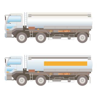 Large tank lorry