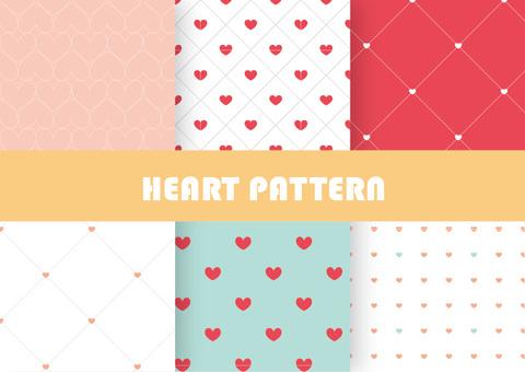 하트 패턴