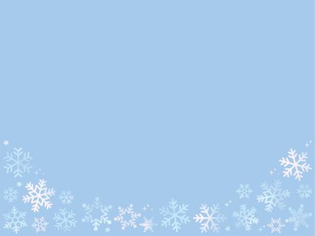 Snowflake White Frame 2