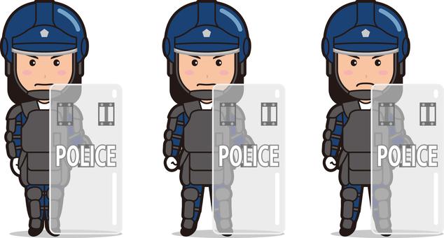 Officer 11 (man · riot)