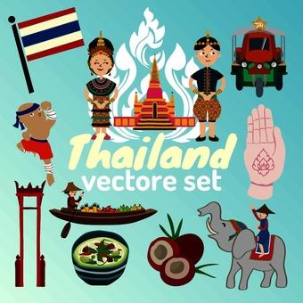 Illustration of Thailand
