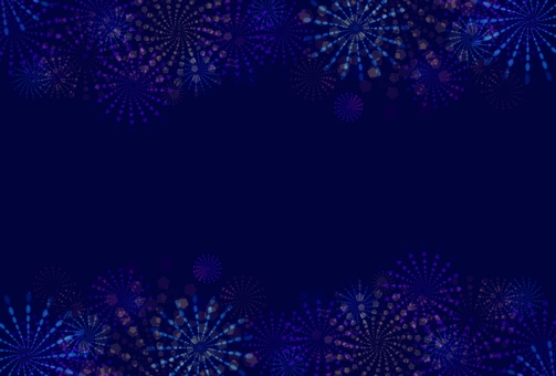 Postcard side (fireworks)