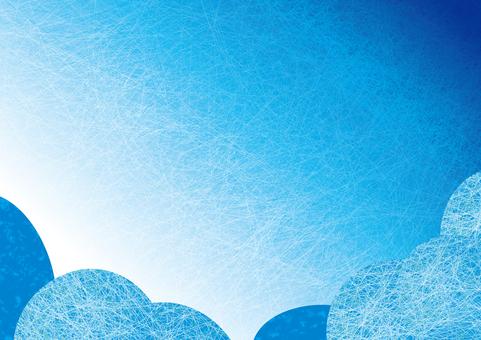 藍藍的天空背景圖03