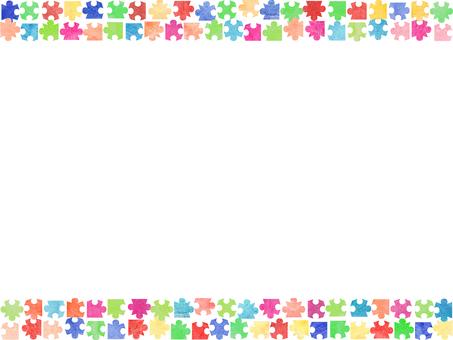 Jigsaw Puzzle Frame ①