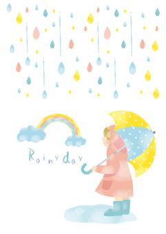 비오는 날의 산책