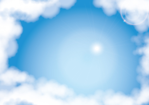 Sky _ blue sky _ cloud 2