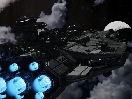 宇宙戦艦発進