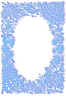 Goldfish Frame (blue)