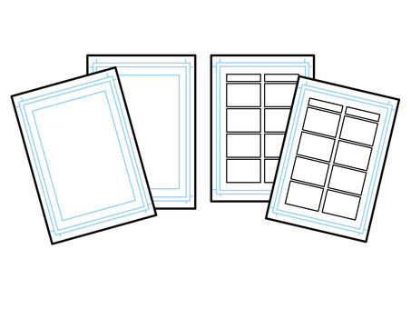 Manga manuscript paper