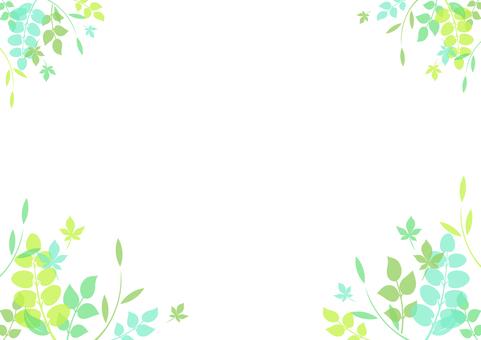 Fresh green material 106