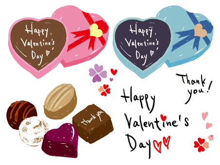 Valentine Material / Hand Drawing