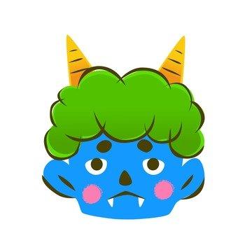 절분의 푸른 악마
