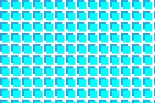 ブルーとライトブルーのブロック状模様