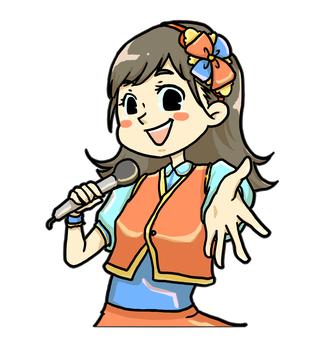 アイドル【女性】