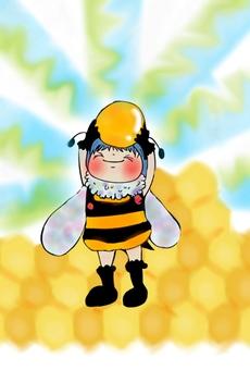 Honey bee-kun