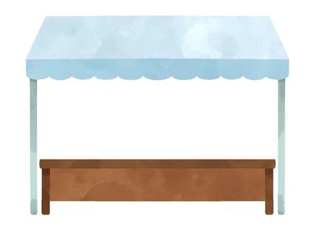 Illustration of tent (plane)